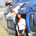 Tiger Shroff arrives in style to meet fans
