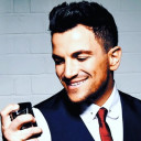 Peter Andre jokes about 16-year age gap with wife