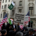 Protest Outside Pakistan Consulate