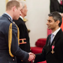 Dhruv Patel, London-born entrepreneur, receives royal honor in the UK for service to community