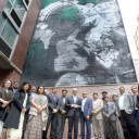 India's Permanent Mission to UN inaugurates giant mural
