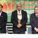 Overseas Friends of BJP in usa organized a meet and Greet with Shri Seshadri chari at TV ASIA Studio in NJ