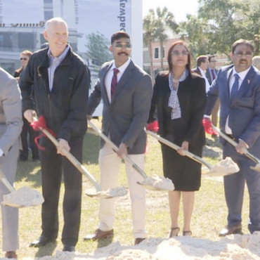 FL Governor breaks ground on Indian American-owned $20 million hotel