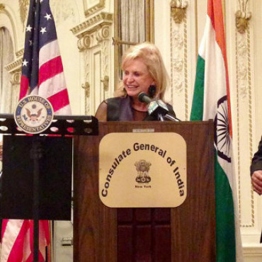 'Mahatma Gandhi should be honored with US Congressional Gold Medal,' says Rep. Carolyn Maloney, D-NY