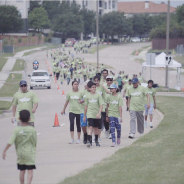 1,200 attend BAPS Charities 'Walk Green 2018' in Dallas, TX