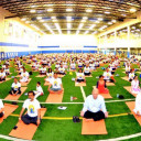 The 5th International Day of Yoga was Organized by Consulate General of India in Naperville