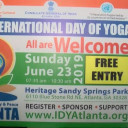 The 5th International Day of Yoga Celebrations in Atlanta, Georgia