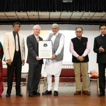 Minister Rupala hosted at community reception in Flushing, NY