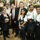 "Hundreds Gather at ""Meet & Greet"" Featuring Indian Cricket Legend Kapil Dev at ShopRite in North Brunswick, NJ"