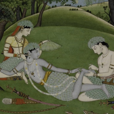 Yearlong exhibition of Ramayana-inspired paintings at MET in NY
