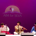 Carnatic and Hindustani Jugalbandi Was Organised by Aim For Seva at Philadelphia