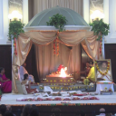 Navratri Nava Chandi Homa was organized by The Art Of Living at Los Angeles
