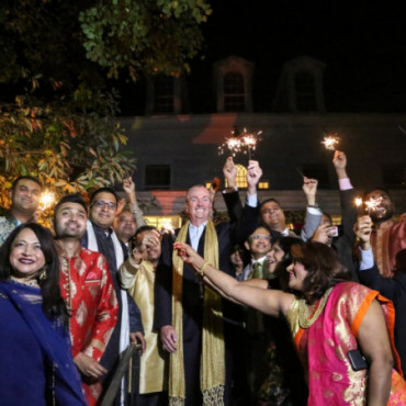 Gov Murphy hosts Diwali celebration at his official mansion in NJ