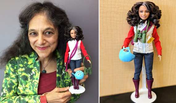 Mattel Breaks Stereotypes and Makes Barbie Inspired by first Indo-American Ecologist Nalini Nadkarni